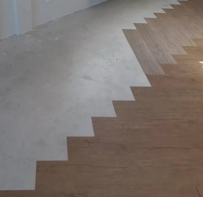 Диагональная укладка пвх плитки