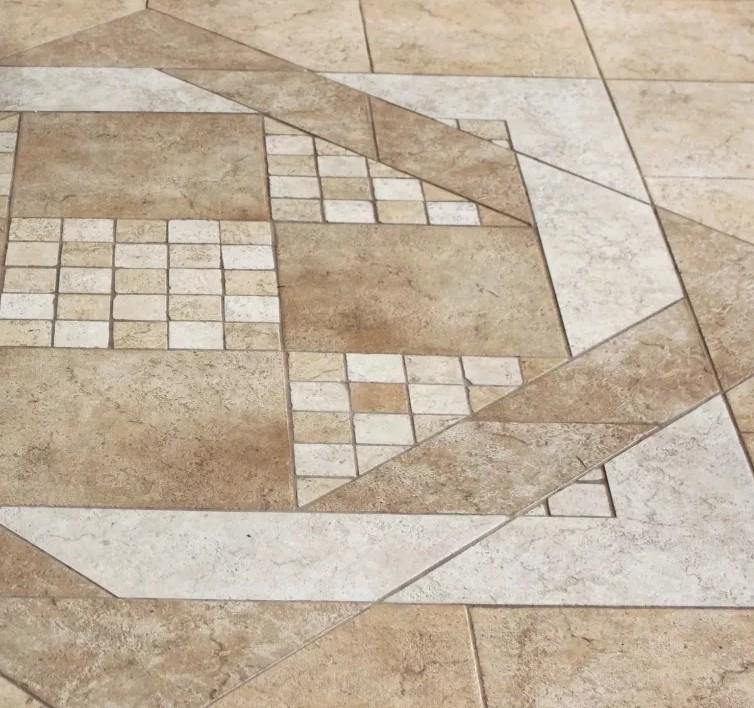 Модульная укладка плитки на пол