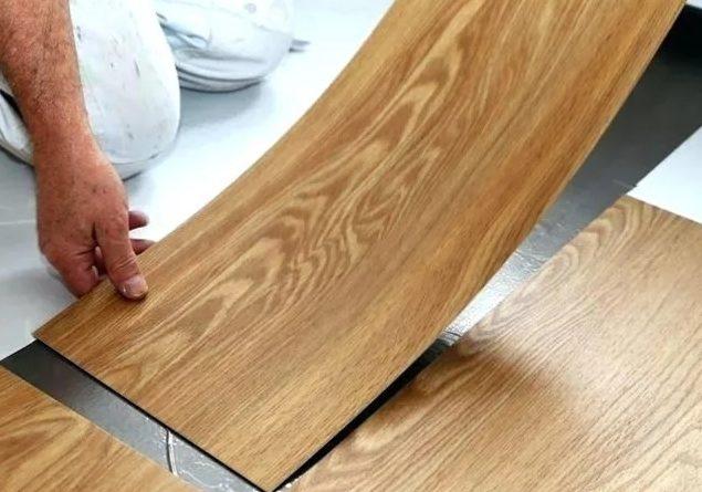 Традиционная укладка пвх плитки