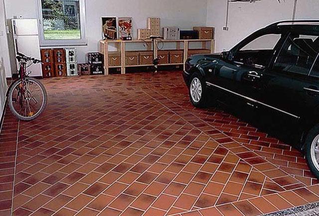 Плитка для гаража на пол как выбрать и какую лучше всего положить