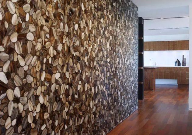 Мозаика на стене: примеры интерьера
